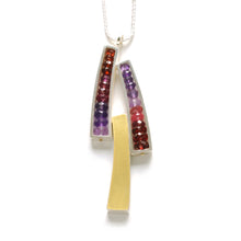 Triple Wedge Necklace WJ13N