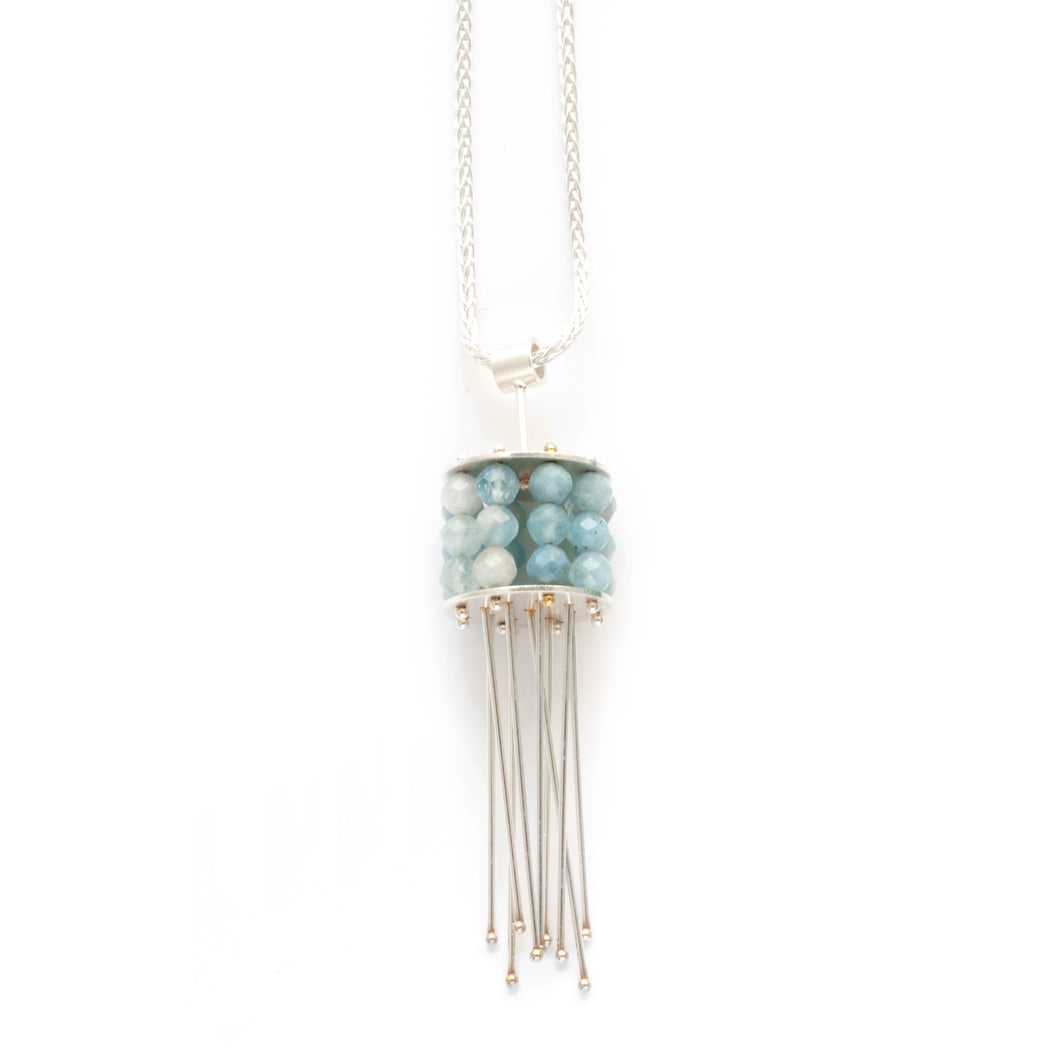 YD38N - Large Jellyfish Necklace