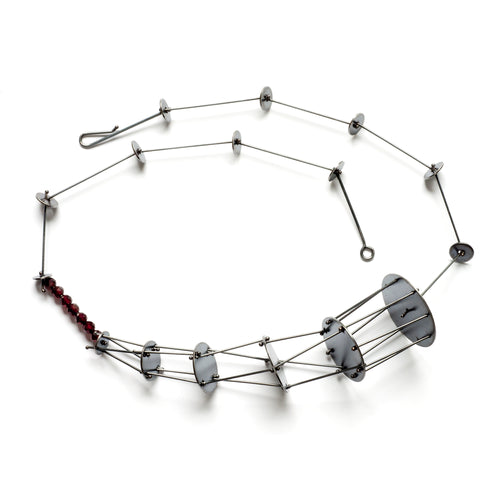 YD510N - Graduated Cages Necklace