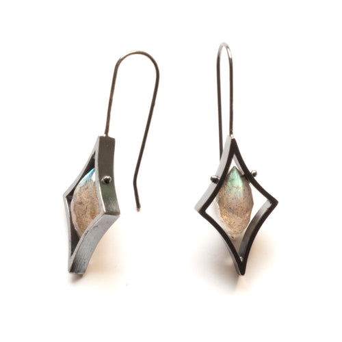 Trapeze Earrings, Vertical ZJ01LE