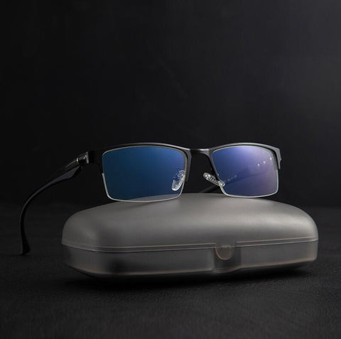 titanium Computer Glasses Anti Blue Light