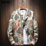 Mens Embroidery Bomber Jacket