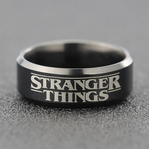 Stranger Things Ring Eleven 011 Friends Don't Lie