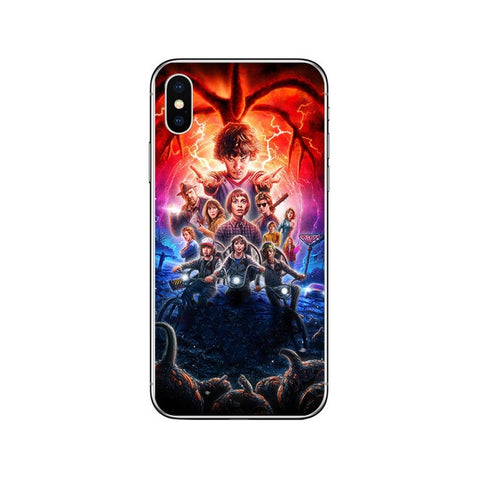 Stranger Things Phone Cases for iPhone