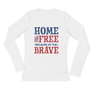 Home of the Brave Long Tee