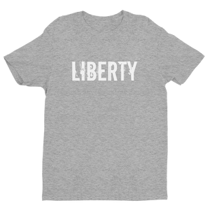 Men's Liberty Midnight Navy Crew Neck Short Sleeve T-Shirt