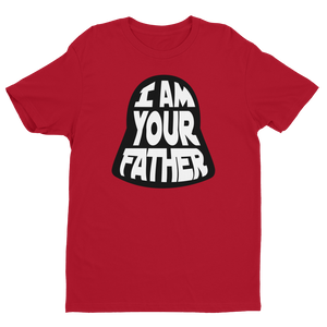 I Am Your Father Red Crew Neck Short Sleeve T-Shirt