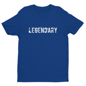 Men's LEGENDARY Royal Blue Crew Neck Short Sleeve T-Shirt