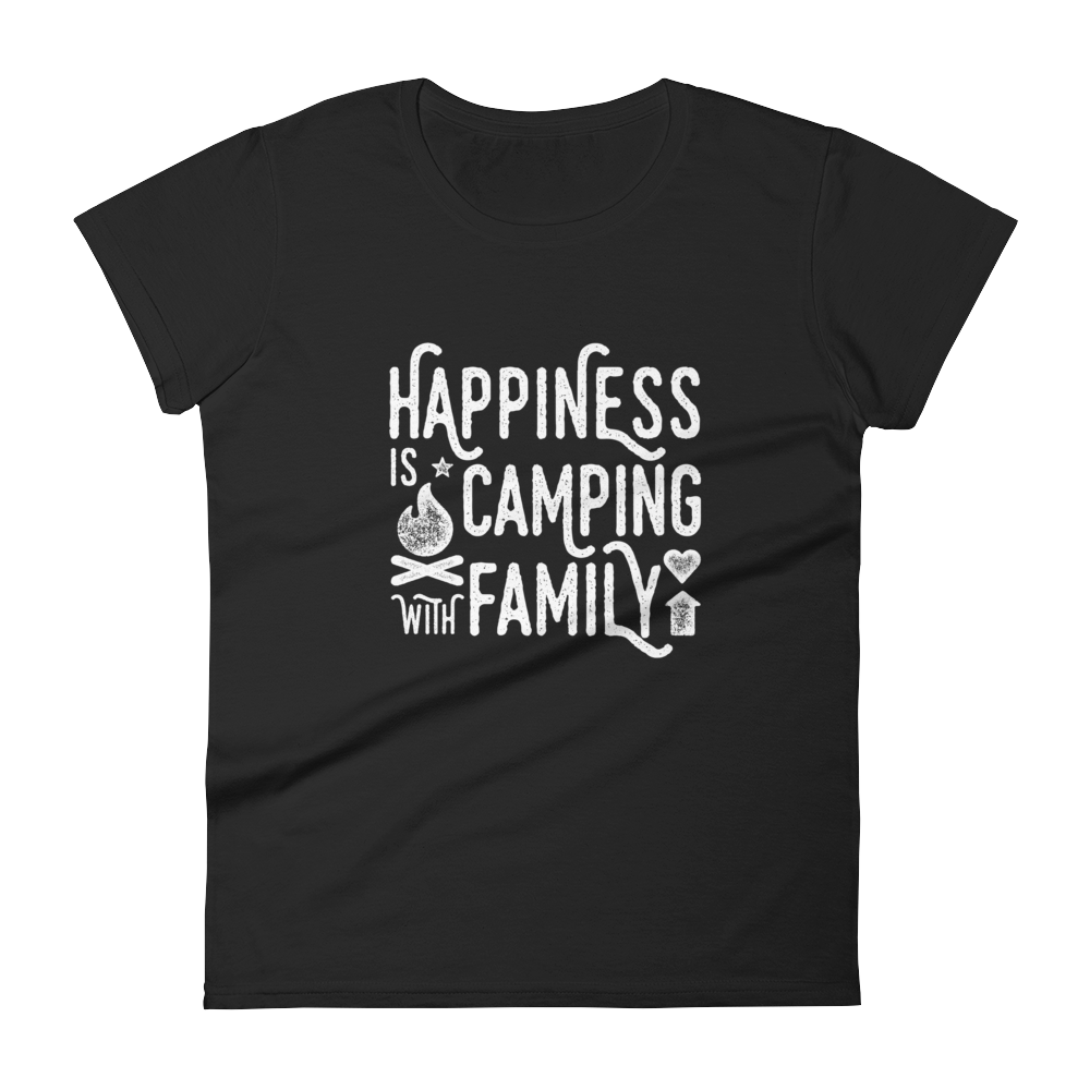Happiness is Camping with Family