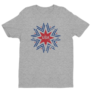 Red and Blue USA T-Shirt