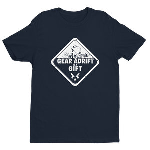 Men's Gear Adrift Is A Gift Black Crew Neck Short Sleeve T-Shirt