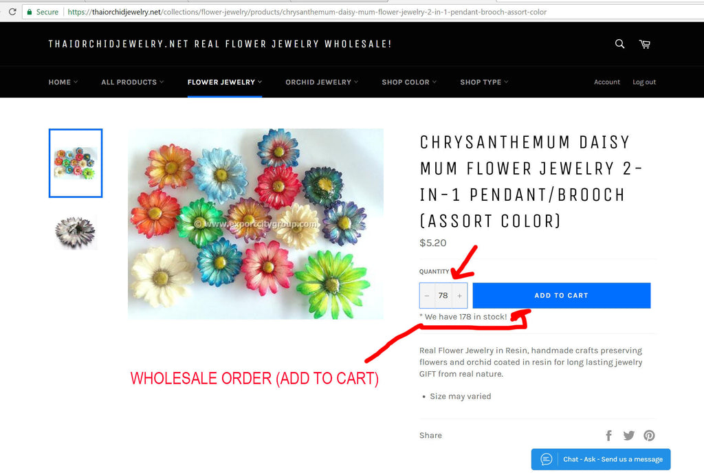 real orchid jewelry wholesale how to buy 1