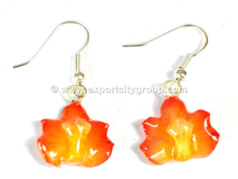 Rhynchocentrum MINI Orchid Jewelry Earring (Yellow)
