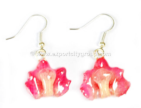 Rhynchocentrum MINI Orchid Jewelry Earring (Pink)