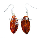 "Tiger CAT Tiger Orchid Jewelry Petal Earring ""M"" (Orange)"