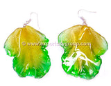 Cattleya Orchid Jewelry LIP Earring (Green)