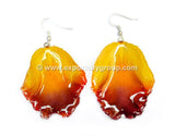Cattleya Orchid Jewelry LIP Earring (Yellow)