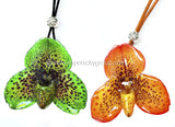Paphiopedilum Bellatulum Orchid Jewelry Earring (Yellow)