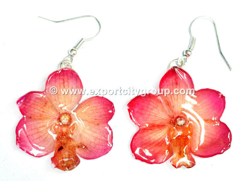 Vanda CANDY Orchid Jewelry Earring (Pink)