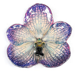 Vanda Orchid Jewelry Pendant (Purple)