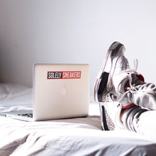 Solely Sneakers Box Logo Sticker