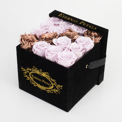 GOLD INFUSED | BLACK FLOWER BOX