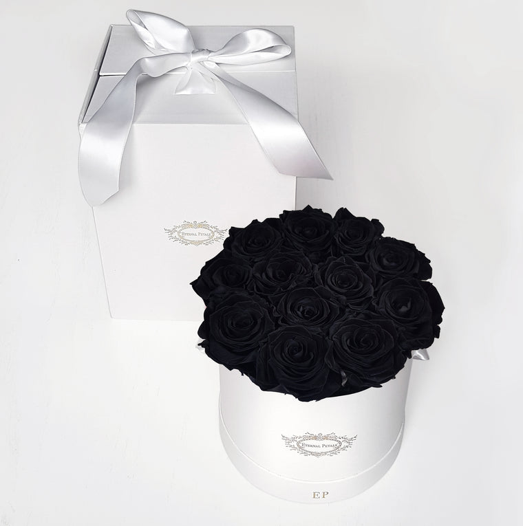 BLACK DIAMOND | ROUND GIFT BOX
