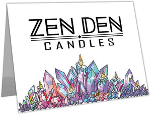 NEW - Zen Den Candles Greeting Cards