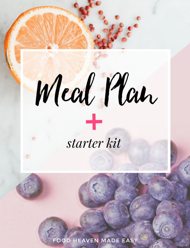 Vegetarian Starter Kit + Meal Plan