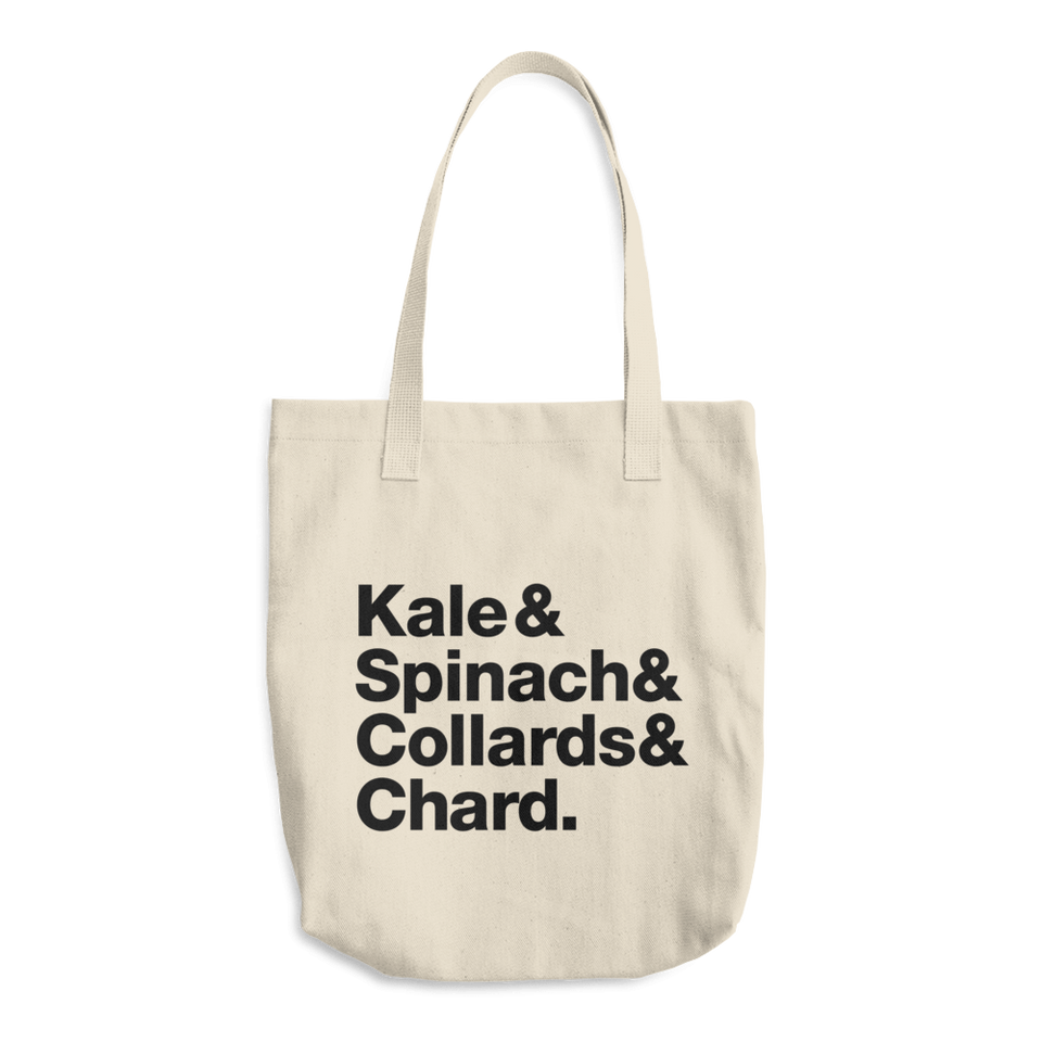 &&& Cotton Tote Bag