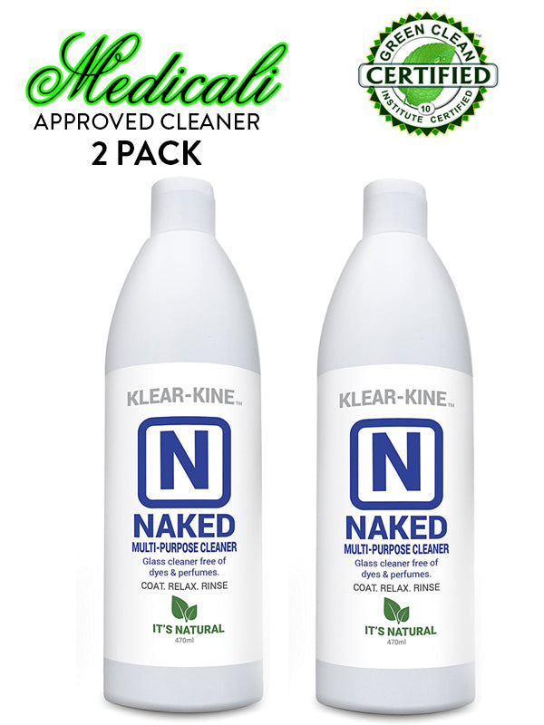 "2 PACK ALL NATURAL PIPE CLEANER - ""NAKED"" 20oz"