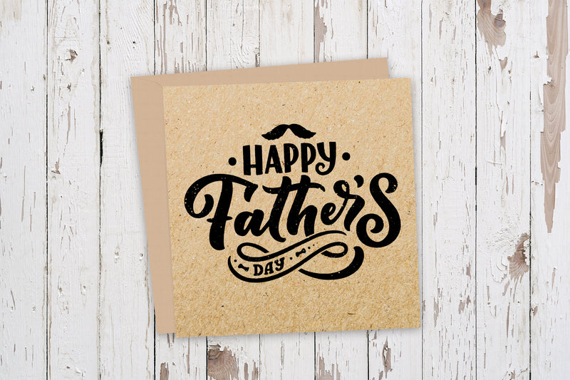 Happy Father's Day Rustic Card