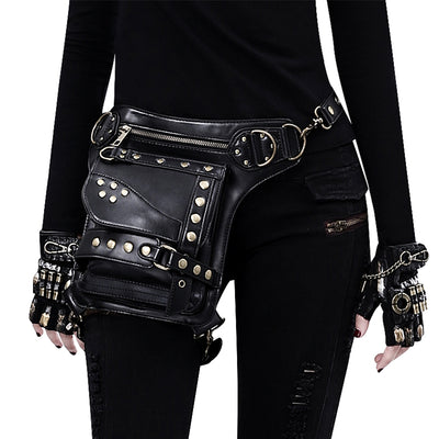 "Bikers Bag | ""Lola"" Women Motorcycle Waist Pouch"