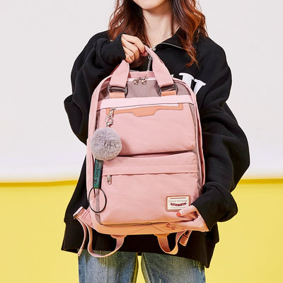 "School Bag | ""Kiki"" Waterproof Nylon Backpack"
