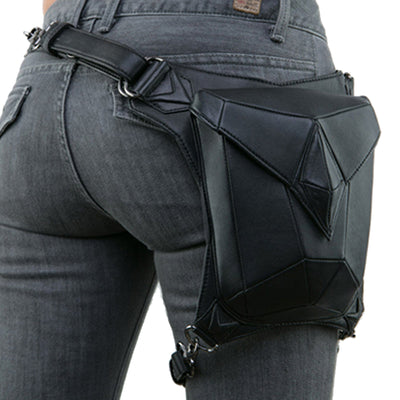 "Bikers bag | ""Angelina"" Women Motorcycle Waist Pouch"