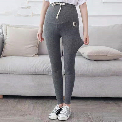 Maternity Pants |  Slim Adjustable Waist Pregnancy Leggings