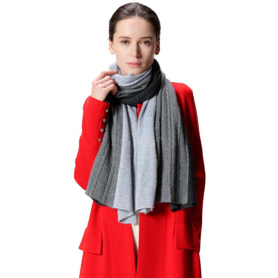 Winter Clothes | Miss Daisy Twisted Knitted Cashmere Scarf