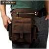 Messenger Bag | Genuine Leather Multifunction Waist Pouch Bags (Free Shipping)