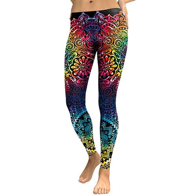 Leggings | High Fashion Flower Women Leggings (Free Shipping)