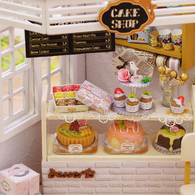 Miniature Gifts  | DIY Miniature Cute Kitty Cake Shop Model