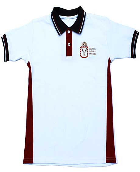 Playera Tipo Polo Kinder