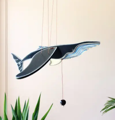 Whale Flying Mobile *