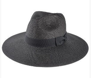 Panama Hat - Black