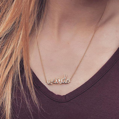 Weirdo* - Necklace