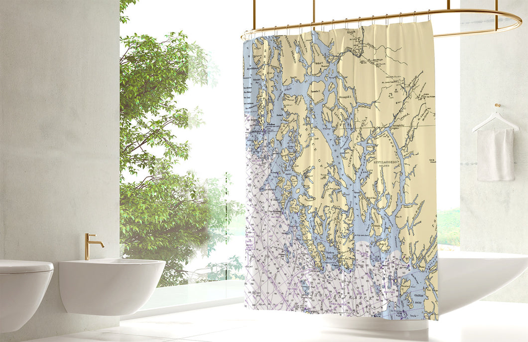 Ketchikan Shower Curtain
