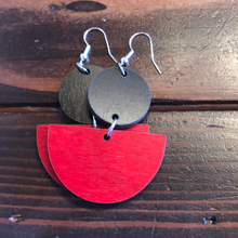 Tristan Berkey - Medium Wooden Earrings