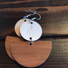 Tristan Berkey - Large Wooden Earrings