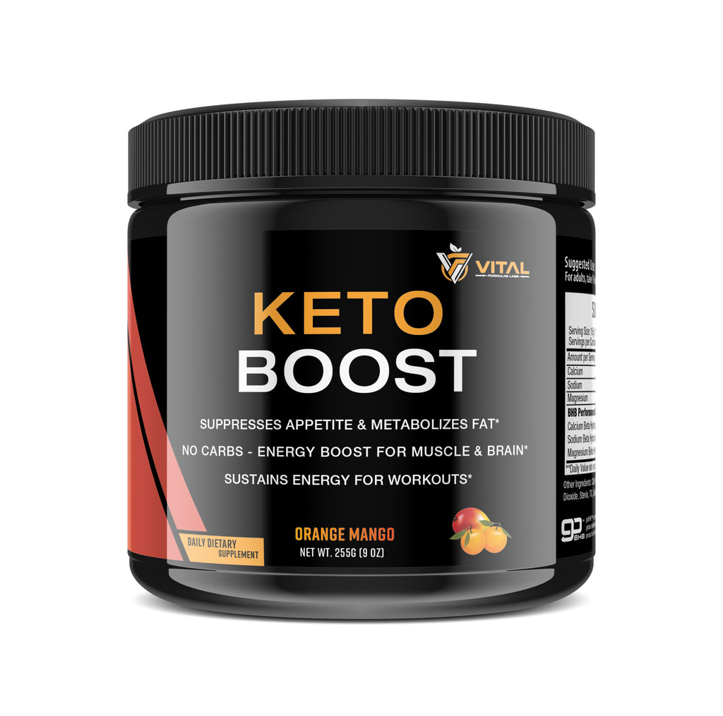Keto Boost - Exogenous Ketone Diet Supplement