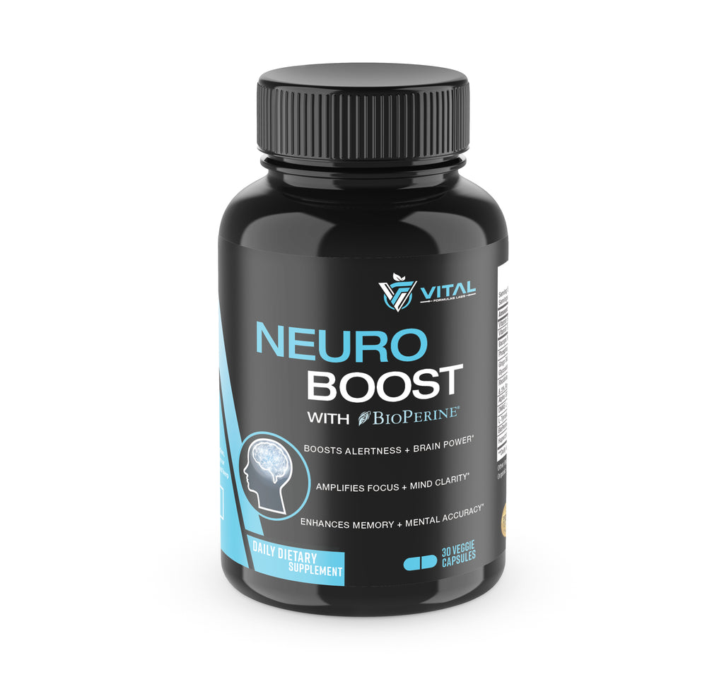 Neuro Boost -  Alertness, Memory, Focus and Clarity