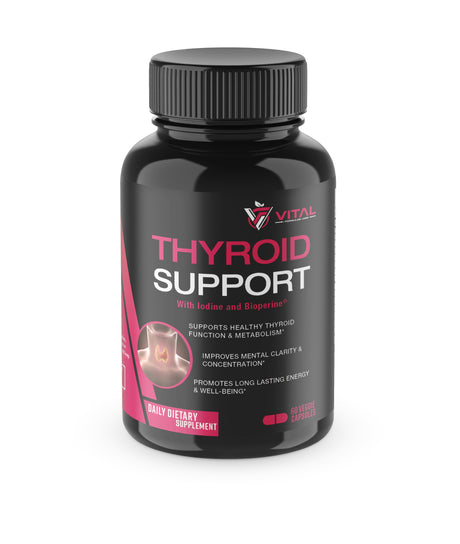 Thyroid Support - Metabolism, Focus, Clarity, Energy